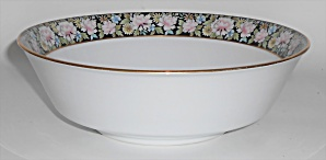 Noritake China Porcelain Rima Floral Round Vegetable