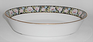 Noritake China Porcelain Rima Floral Oval Vegetable