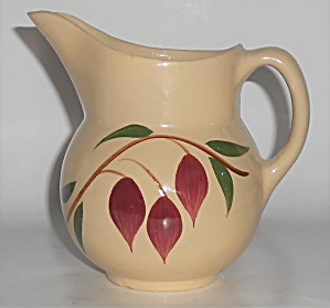 Vintage Watt Pottery American Red Bud Tear Drop #15 Pit