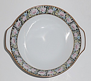 Noritake China Porcelain 5906 Rima Floral Cereal Bowl W