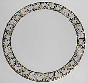 Noritake China Porcelain 5906 Rima Floral Dinner Plate