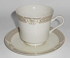 Mikasa Fine China M2002 Richelieu W/gold Cup & Saucer