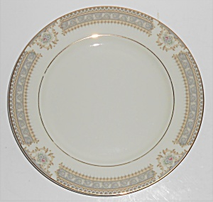 Mikasa Fine China M2002 Richelieu W/gold Salad Plate