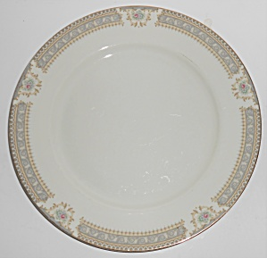Mikasa Fine China M2002 Richelieu W/gold Dinner Plate