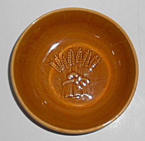 Franciscan Pottery Wheat Harvest Brown Cereal Bowl