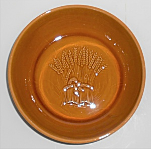 Franciscan Pottery Wheat Harvest Brown Vegetable Bowl