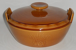 Franciscan Pottery Wheat Harvest Brown 2-qt Casserole