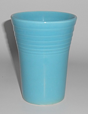 Homer Laughlin Pottery Vintage Fiesta Turquoise 8 Oz Tu