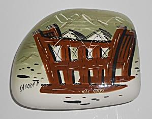 Sascha Brastoff Pottery Alaska Series Adak Covered Box (Image1)