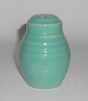 Bauer Pottery Ring Ware Jade Barrel Shaker