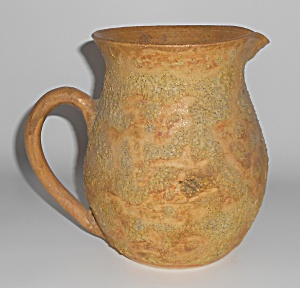 Wathey Studio Pottery Volcanic Glaze Pitcher - Gorgeous