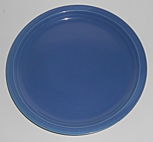 Coors Pottery Rock-mount Blue Dinner Plate