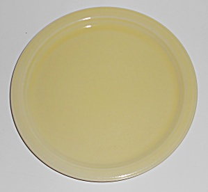 Coors Pottery Rock-mount Yellow Dessert Plate