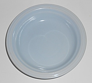 Coors Pottery Mello-tone Blue Cereal/oatmeal Bowl