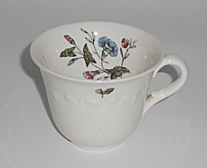Wedgwood Pottery China Williamsburg Demitasse Cup