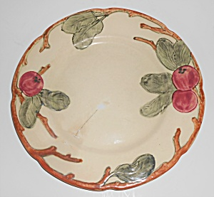 Weller Pottery Zona Apple Salad Plate #4