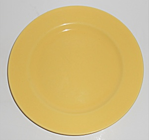Franciscan Pottery El Patio Bright Gloss Yellow Lunch P