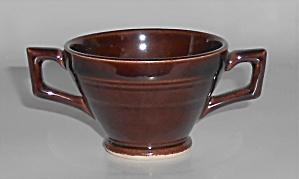 Vernon Kilns Pottery Early California Demitasse Sugar  (Image1)