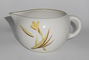 Winfield Pottery China Tiger Iris Creamer