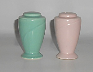 Homer Laughlin Pottery Serenade Salt & Pepper Shakers