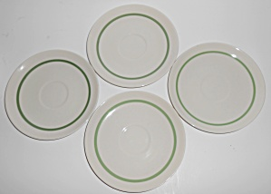 Franciscan Pottery China Westwood Set/4 Saucers