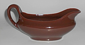 Metlox Pottery Poppy Trail Series 200 Rust Gravy Bowl