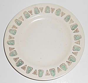 Metlox Pottery Poppy Trail Navajo Bread Plate
