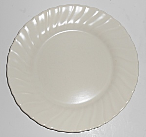 Franciscan Pottery Coronado Satin Ivory Luncheon Plate