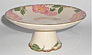 Franciscan Pottery Desert Rose U.s.a. Compote