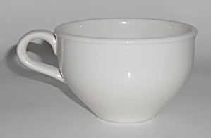 Russel Wright Pottery Casual China White Restyled Cup