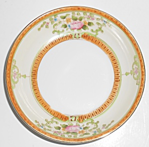Noritake Porcelain China Floral W/gold Fruit Bowl