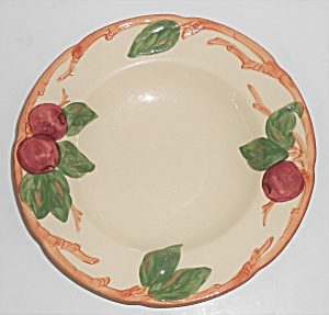 Franciscan Pottery U.s.a. Apple Rimmed Soup Bowl