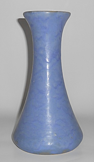 Brush Mccoy Art Pottery Blue Vellum #064 Vase