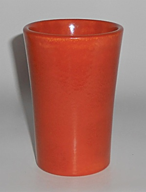 Catalina Island Pottery Early Toyon Red Tumbler (Image1)