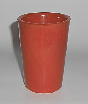 Catalina Island Pottery Early Toyon Red Tumbler