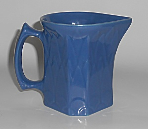 Coors Pottery Coorado Blue Pitcher (Image1)