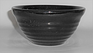 Bauer Pottery Ring Ware Black #30 Mixing Bowl