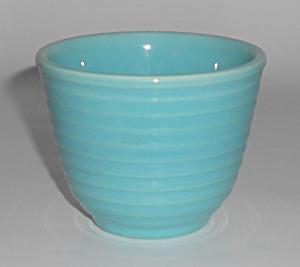 Franciscan Pottery Kitchen Ware Glacial Blue Custard Cu