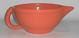 Metlox Pottery Poppy Trail Series 200 Orange Handled
