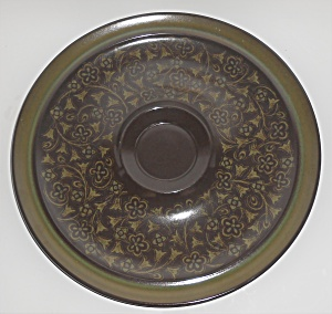 Franciscan Pottery Madeira Chip & Dip Plate