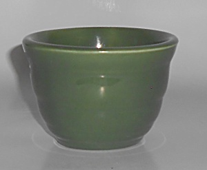 Bauer Pottery Gloss Pastel Kitchenware Green Custard