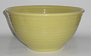 Vintage Bauer Pottery Ring Ware Chartreuse #9 Mixing Bo