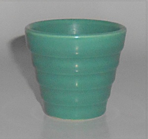 Metlox Pottery Poppy Trail Early 2-f Jade Step Flower P