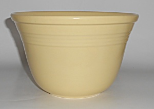 Metlox Pottery Mission Bell Yellow Bands Mixing Bowl (Image1)