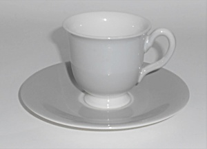 Franciscan China Encino Breakfast Grey Demitasse Cup &