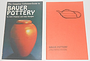 1986 Bauer Pottery Book 2nd Printing W/price Guide