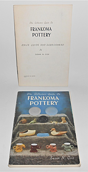 Frankoma Pottery 1979 First Edition Book W/price Guide