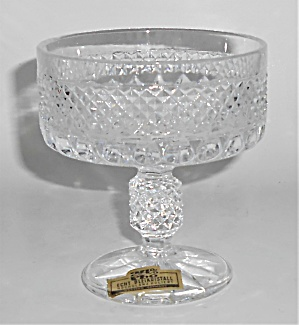 West Germany Lead Crystal Champagne / Sherbet Glass