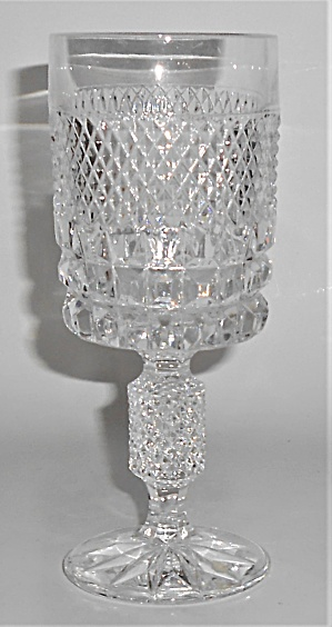 West Germany Lead Crystal Wine Glass