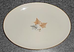 Ohata Japan China Porcelain Topaze Platter w/Gold (Image1)